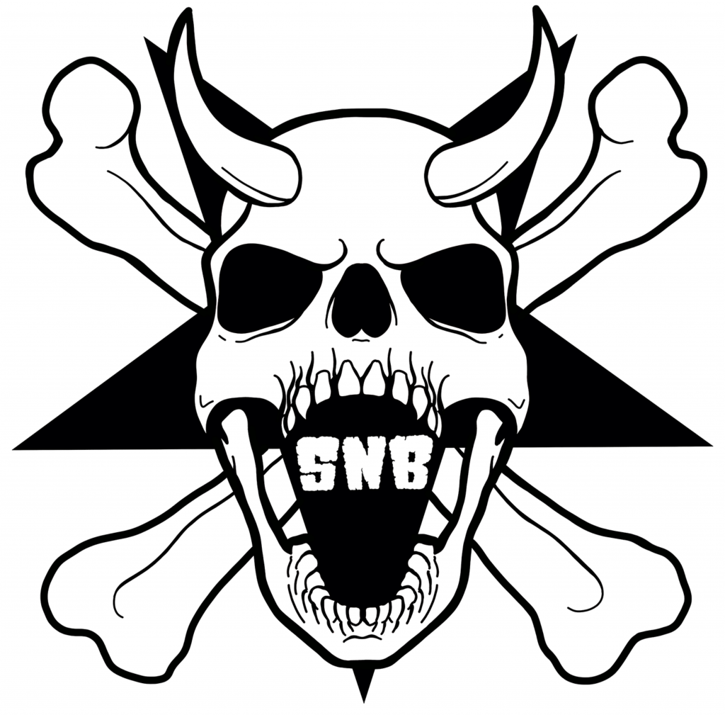 SkullsNBones Logo By: Jason Sorrell of Art Monster ATX. https://artmonsteratx.com